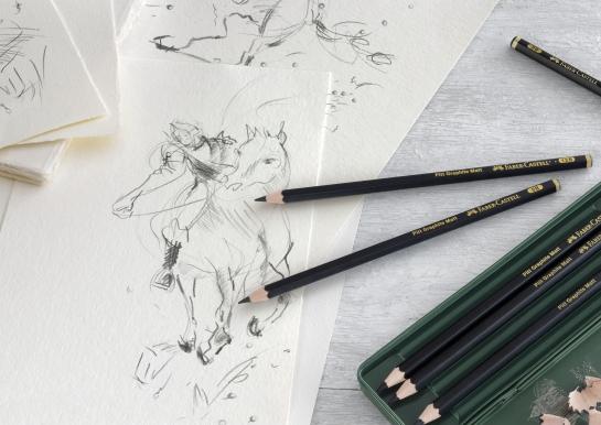 Матові олівці  для малювання